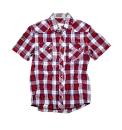 Grey Hawk Short Sleeve Check Shirt