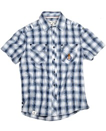 Grey Hawk Short Sleeve Check Shirt