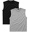 Premier Man Pack of 2 Muscle T-Shirts