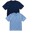 Premier Man Pack of 2 V Neck T-Shirts