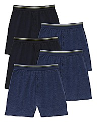 Premier Man Pk of 5 Knitted Boxer Shorts
