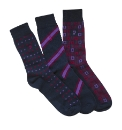 Pack of 3 Farah Jacquard Socks