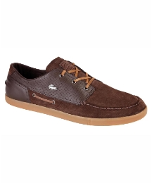 Lacoste Leather Lace Up Shoe