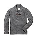 Kayak Mighty Shawl Neck Jumper