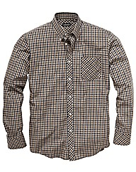 &Brand Tall Small Checked Shirt