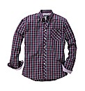 & Brand Tall Multi Check Shirt