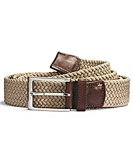 Italian Classics Plait Webbed Belt