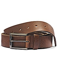 & Brand Casual Distressed Leather Belt