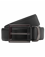 & City Formal Leather Belt