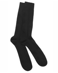 H J Hall Panelled Rib Socks