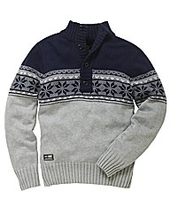 Duke Mighty Nordic Knitted Jumper