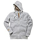 Duke Hooded Zip Through Sweatshirt