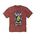 Weird Fish Mighty Animated Flag T Shirt