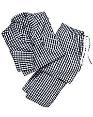 Jockey Tall Checked Woven Pyjamas