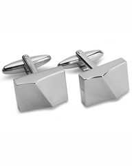 & City Peaked Cufflinks