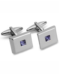 & City Crystal Cufflinks