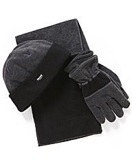 & Brand Thinsulate Hat,Scarf & Glove Set