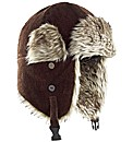 Kayak Fir Trim Cord Trapper Hat