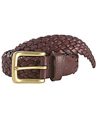 Polo Ralph Lauren Leather Braided Belt