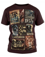 D555 Mayhem Tour Print T Shirt