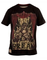 D555 Cirque De Freak Print T-Shirt