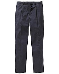 & Brand Pleated Chino 34in Leg