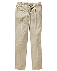 & Brand Pleated Chino 38in Leg