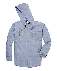 Kayak Tall Plain Hooded Shirt