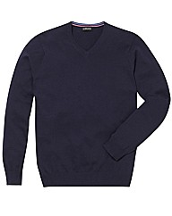 &Brand Tall V-Neck Jumper