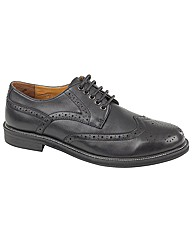 Jimmy Bee Waxy Leather Brogue Shoes