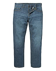 &Brand Washed Denim Jeans 38in Leg