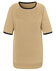 Fully Fashioned Short Sleeved Jumper