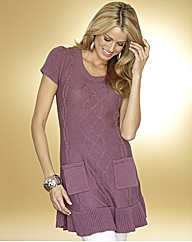 Frill Hem Tunic Dress