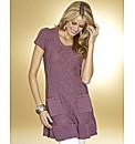 Frill Hem Tunic Dress