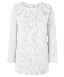 Round Neck Rib Jumper