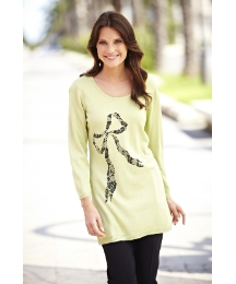 Printed Bow Tunic