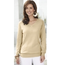 Fully Fashioned V Neck Jumper