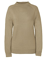 Fully Fashioned Turtle Neck Jumper