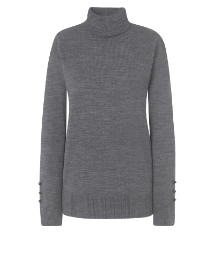 Fine Knit Roll Neck Jumper