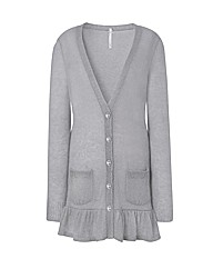 Frill Boyfriend Cardigan