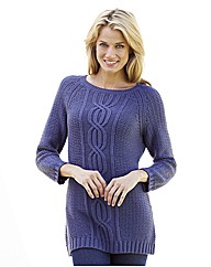 Mock Back Button Tunic