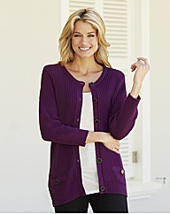 Mock Pocket Cardigan