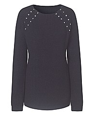 Stud Detail Jumper