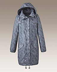 Print Pac A Parka Lightweight Jacket
