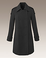 Trench Style Coat Length 34in