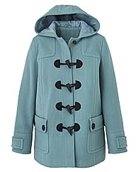 Petite Duffle Coat Length 27in