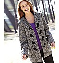 Tweed Duffle Coat Length 28in