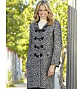 Tweed Duffle Coat Length 37in