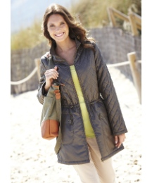 Sheen Quilted Jacket