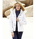Trespass Faux Fur Trim Jacket